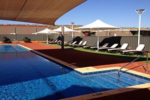 marandoo minesite swimming pool