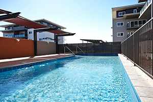apartment pools - baynton