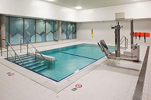 hydrotherapy pool - midland hospital