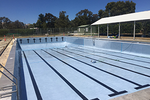 applecross high school swimming pool renovation